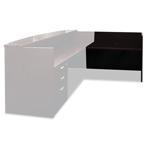 Mayline Mira Series Reception Desk Shell Return MLNMRRT2448ESP,  (UPC:760771115937)