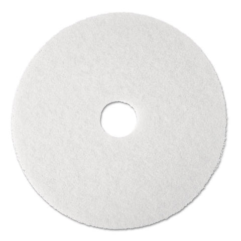 3M Super White Polish Pad 4100 ; (048011084817); Color:White