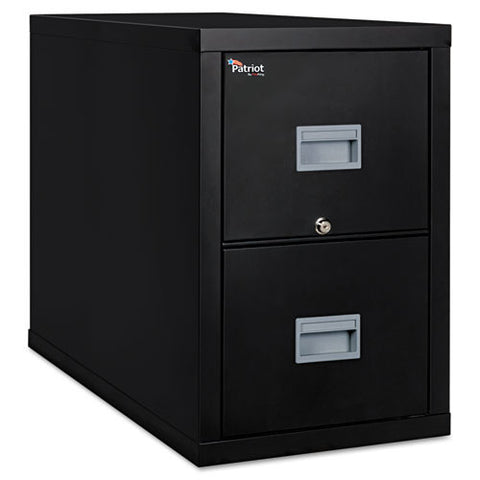 FireKing Patriot Series 2-Dr Vertical Fire Files FIR2P1831CBL, Black (UPC:033983078698)