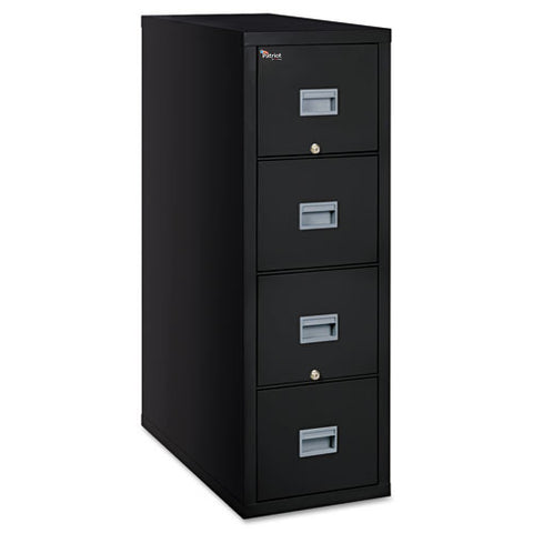 FireKing Patriot Series 4-Dr Vertical Fire Files FIR4P1831CBL, Black (UPC:033983078681)
