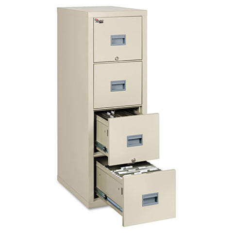 FireKing Patriot Series 4-Drawer Vertical Files FIR4P1825CPA, Tan (UPC:033983078582)