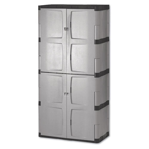 Rubbermaid Double-Door Storage Cabinet RUB7083,  (UPC:000000000000)