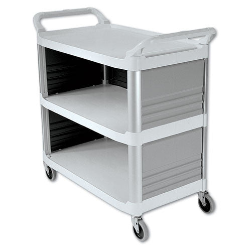 Rubbermaid Commercial Xtra Utility Cart RCP4093CRE,  (UPC:086876133448)