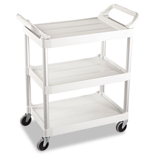Rubbermaid Swivel Casters Utility Cart RCP342488OWH, White (UPC:086876159516)