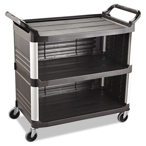Rubbermaid Commercial Xtra Utility Cart RCP4093BLA,  (UPC:086876153729)