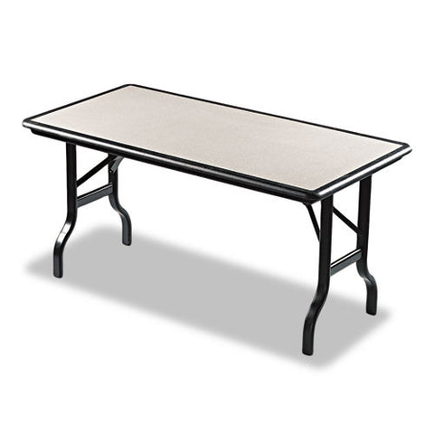Iceberg IndestrucTable Folding Table ICE65117, Black (UPC:674785651179)