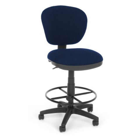 OFM Lite Use Computer Task Stool with Drafting Kit ; UPC: 845123011898