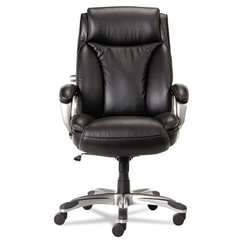 Alera Veon Series Executive High-Back Leather Chair ALEVN4119,  (UPC:042167392260)