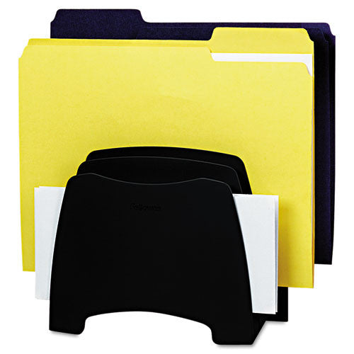 Fellowes Partition Additions Step File FEL7528601, Black (UPC:043859538881)