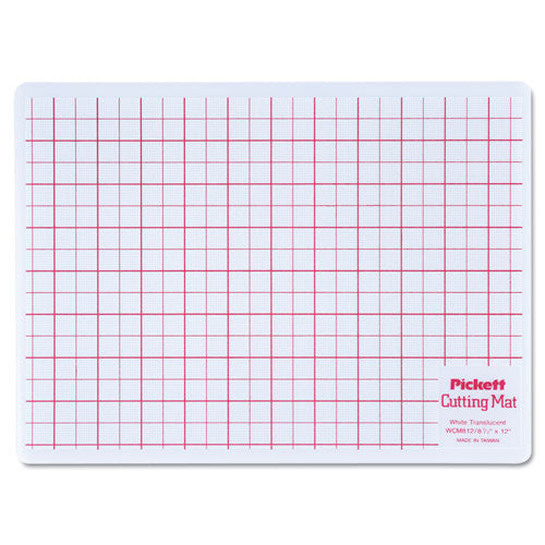 Chartpak Cutting Mat ; (014173112651); Color:White