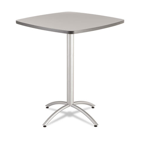 "Iceberg CafeWorks 36"" Square Bistro Table ICE65631, Gray (UPC:674785656372)"