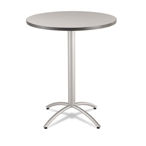 "Iceberg 65667 - CafeWorks Bistro Table, 36"" Round, Gray ICE65667,  (UPC:674785656679)"