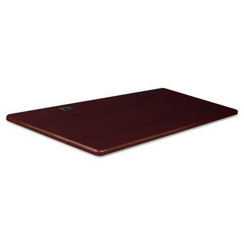 MooreCo Height-Adjustable Flipper Training Tabletop BLT90305, Mahogany (UPC:717641903057)