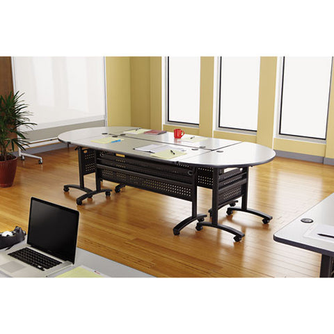 Alera Valencia Series Training Table, Complete Table ALEVA72RE4824GY,  (UPC:042167303532)
