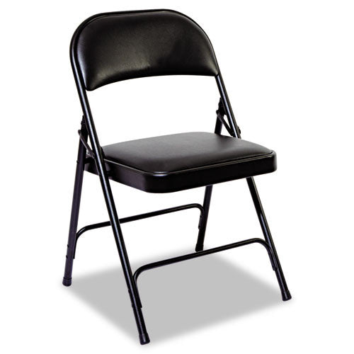 Alera Steel Folding Chair with Two-Brace Support ALEFC96B,  (UPC:042167960247)