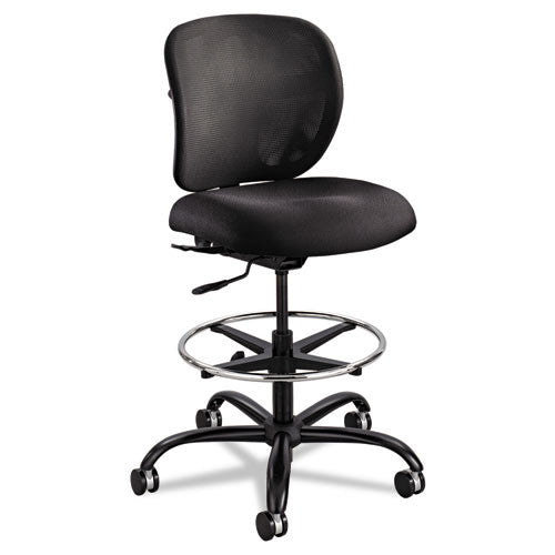 Safco Vue Heavy-duty Stool SAF3394BL, Black (UPC:073555339420)