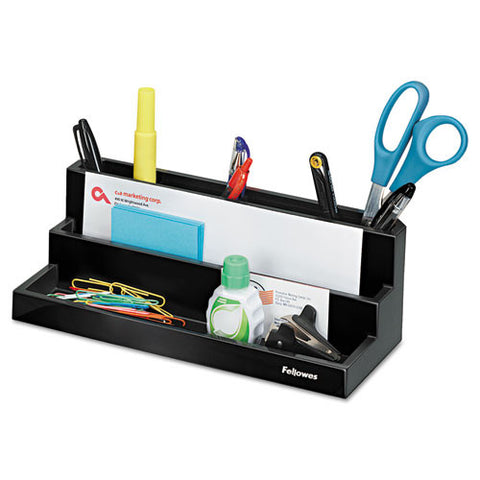 Fellowes Designer Suites Organizer FEL8038901, Black (UPC:043859528103)