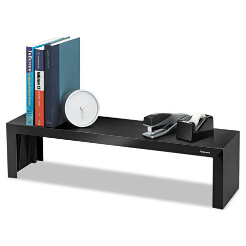 Fellowes Designer Suites Shelf FEL8038801, Black (UPC:043859528097)