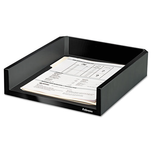 Fellowes Designer Suites Letter Tray FEL8038501, Black (UPC:043859528073)