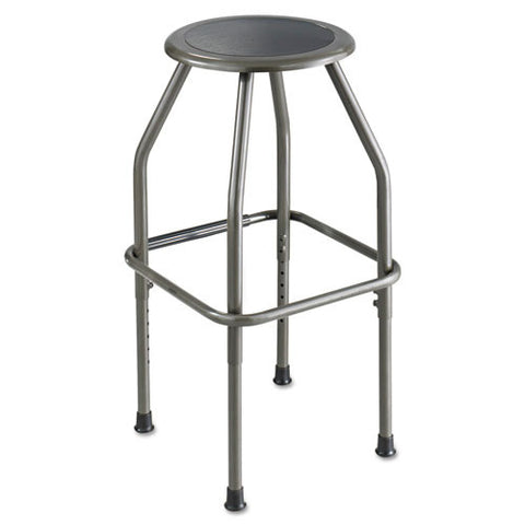 Safco Adjustable Height Diesel Stool Trolley SAF6666, Gray (UPC:073555666601)
