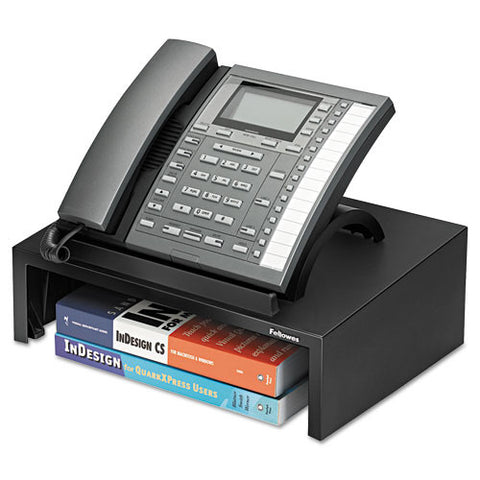 Fellowes Designer Suites Phone Stand FEL8038601, Black (UPC:043859528110)