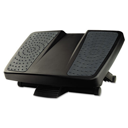 Fellowes Ultimate Foot Rest Support FEL8067001, Black (UPC:043859625086)
