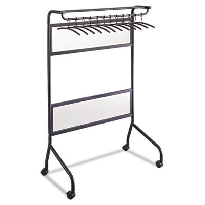 Safco Impromptu Steel Frame Garment Rack ; (073555460124); Color:Black