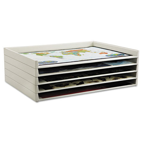 Safco Giant Stack Tray SAF4899, White (UPC:073555489903)