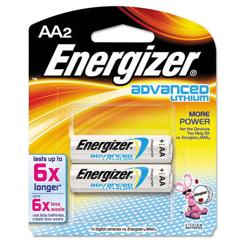 Energizer EA91BP-2 Advanced Lithium General Purpose Battery ; (039800035950)