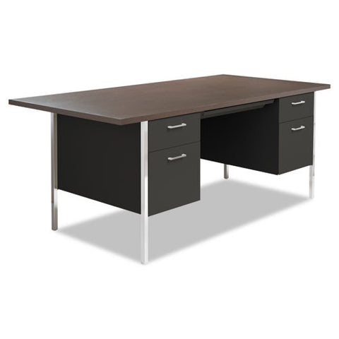 Alera Double Pedestal Steel Desk ; UPC: 42167400453