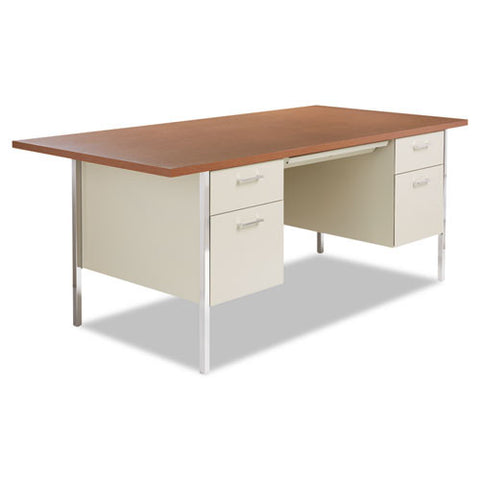Alera Double Pedestal Steel Desk ; UPC: 42167400460