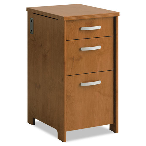 Office Connect by Bush Furniture Envoy Series Three-Drawer Pedestal BSHPR76380,  (UPC:042976010812) ; Image 1