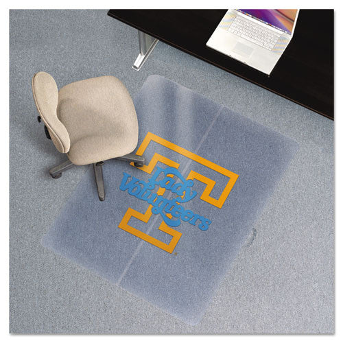 ES Robbins Collegiate Series Chair Mat for Low Pile Carpeting ESR501124,  (UPC:702488011249)