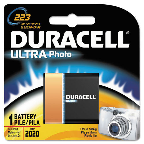 Duracell Lithium Camera Battery ; (041333122106)