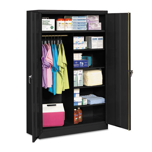 Tennsco Storage Cabinet TNNJ2478SUCBK, Black (UPC:00)