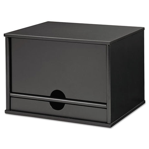 Victor Midnight Black Desktop Organizer VCT47205, Black (UPC:014751472054)