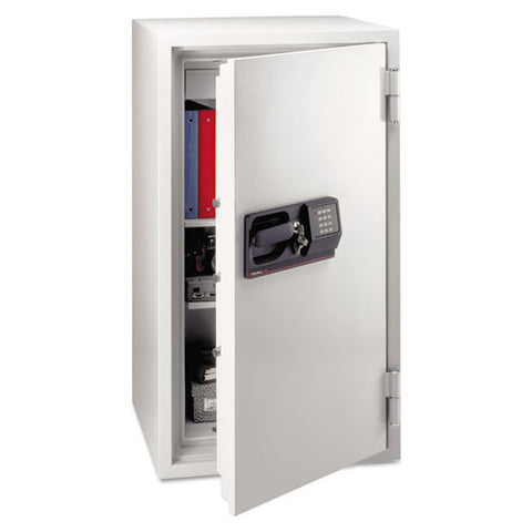 Sentry_Commercial Safe, 5.8 ft3, 25-1/2w x 23-7/8d x 47-5/8h, Light Gray_	 - 1