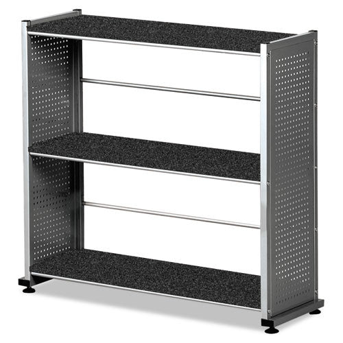 Mayline Eastwinds 993 Accent Bookcase MLN993ANT, Black (UPC:760771644802)