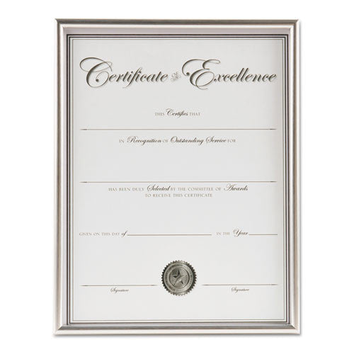 Burnes Group Backloading Document/Certificate Frame ; (076795320517)