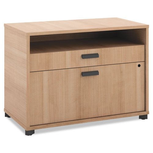 "HON Manage File Center | 1 Open Shelf / 1 Pencil Drawer / 1 Lateral Drawer | 30""W x 16""D x 22""H 