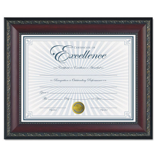 Dax Gold Accent WORLD CLASS Document Frame ; (076795303060)