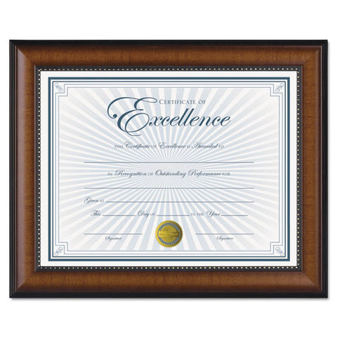 Burnes Document Frame ; (076795302889); Color:Black,Walnut