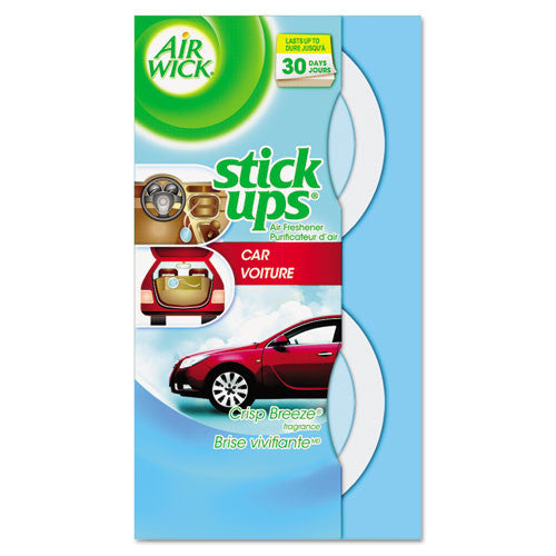 Airwick Stick Ups Scented Car Air Freshener ; (062338858234)
