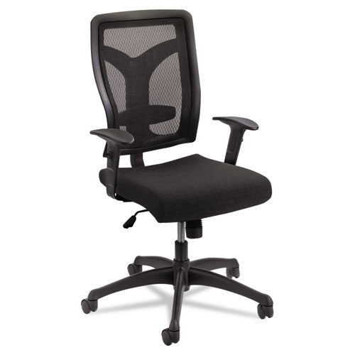 Safco Voice Series Mesh Back Task Chair SAF5086BL, Black (UPC:073555508628)