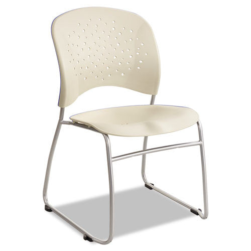 Safco Reve Guest Chair with Sled Base SAF6804LT,  (UPC:073555680447)