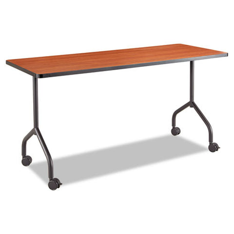 Safco Impromptu Mobile Training Table T-Leg Base SAF2075BL, Black (UPC:075333207525)