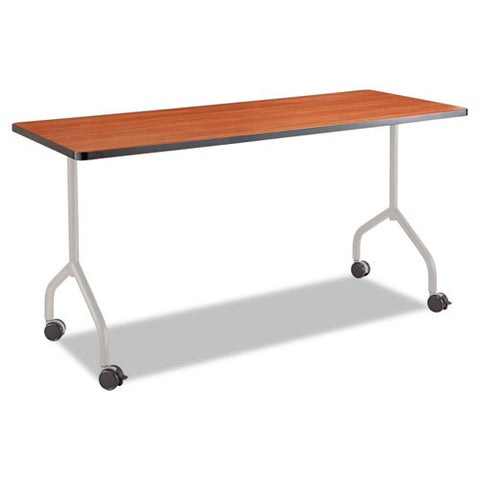 Safco Impromptu Mobile Training Table T-Leg Base SAF2075SL, Silver (UPC:073555207514)