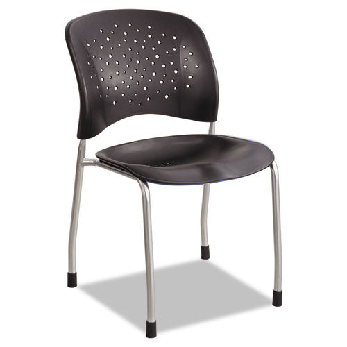 Safco Reve Guest Chair with Straight Legs SAF6805BL,  (UPC:073555680522)