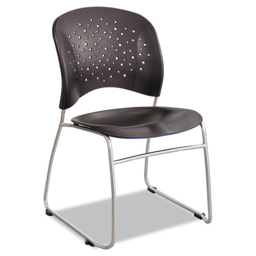 Safco Reve Sled Base Guest Chair SAF6804BL,  (UPC:073555680423)
