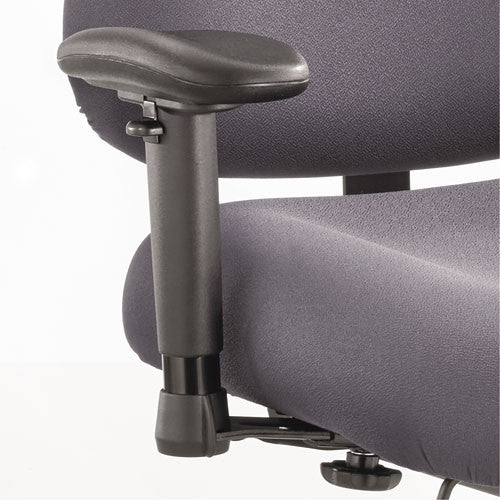 Safco Optimus Big and Tall Chair Arm Kit SAF3591BL, Black (UPC:073555359121)
